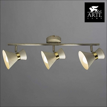 Спот Arte Lamp Baltimore золото арт. AR_A1406PL-3WG